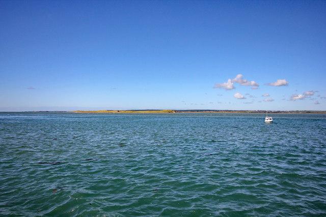 View towards Abermenai Point