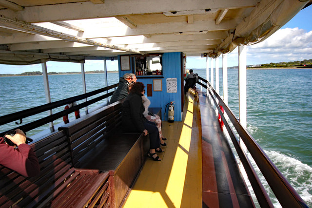 Aboard the 'Queen of the Sea'