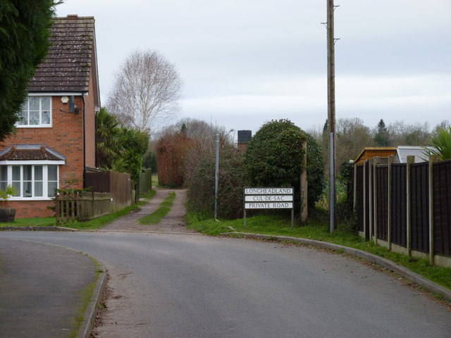 Path to allotments from Sandys Road, Ombersley