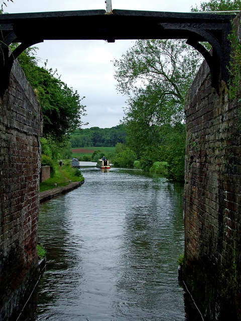Canal south-east of Stafford