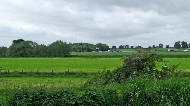 Staffordshire farm land north of Penkridge