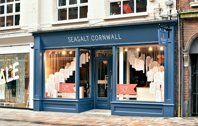 """Seasalt Cornwall"", Belfast (January 2019)"
