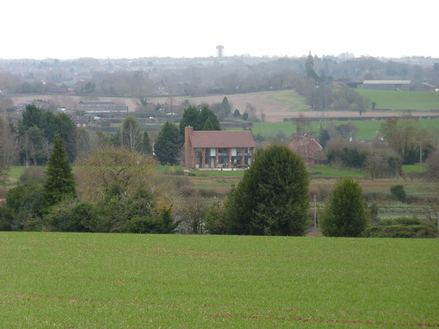 Looking towards Droitwich from near Uphampton