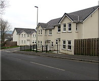 ST1494 : Ystrad Mynach houses built in the second decade of the 21st century by Jaggery