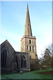 SO7137 : Spire of St Michael and All Angels Church by Philip Halling