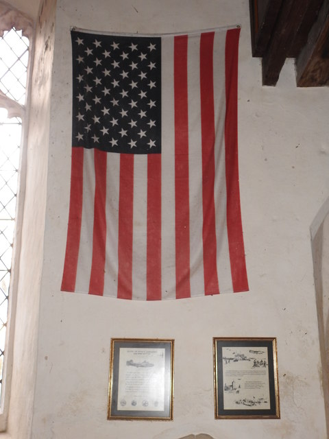 Tribute to the 448th Bomb Group (H) in Seething church