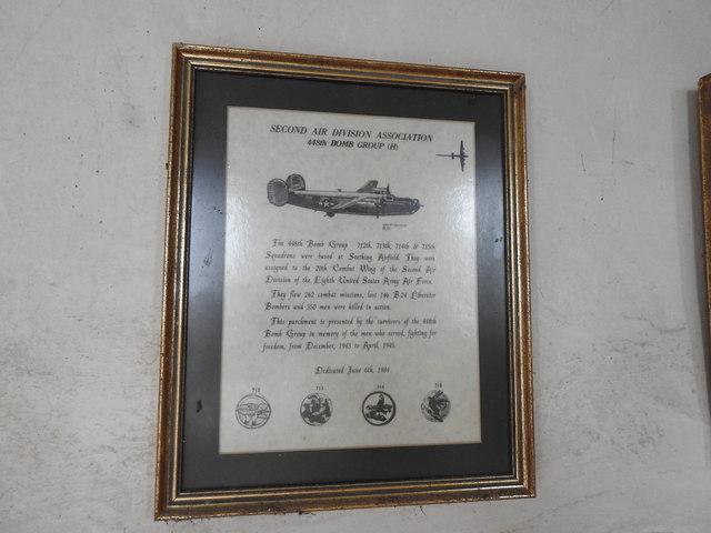 Second Air Division memorial