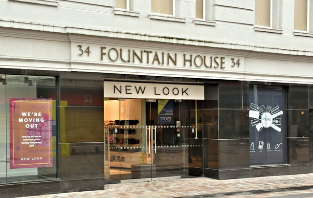 """New Look"", Fountain House, Belfast - January 2019(3)"