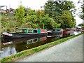 SJ2142 : Moored narrowboats by Gerald England
