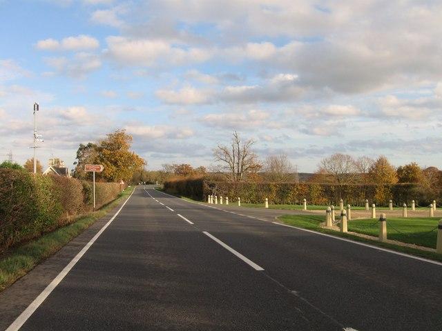 A151 eastbound