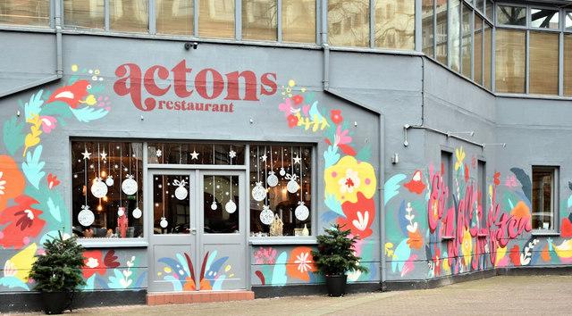 """Actons"" restaurant, Belfast (January 2019)"