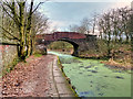 SD7706 : Manchester, Bolton and Bury Canal Bridge#16 by David Dixon