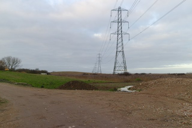 Electricity Pylons, Seasalter Levels