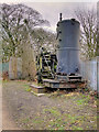 SD7606 : Mount Sion Steam Crane by David Dixon
