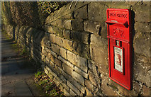 SE2853 : Postbox, Otley Road by Derek Harper