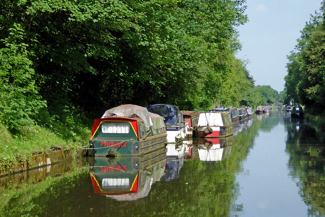 Shropshire Union Canal at Brewood, Staffordshire