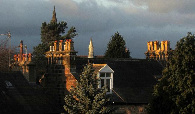 51c3f0c5b53d Chimneys and spires, Harrogate © Derek Harper cc-by-sa/2.0 ...