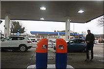 TQ3990 : Gulf petrol stations on Woodford New Road by David Howard