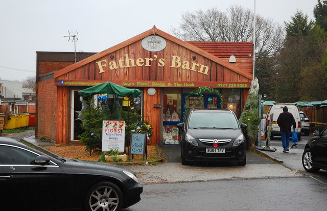 Father's Barn, New Road, Rubery, near Birmingham