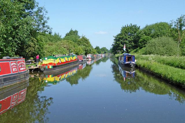 Shropshire Union Canal near Brewood, Staffordshire