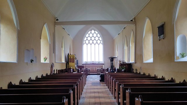 Nave of the church of St Mary & St Margaret, Norton Subcourse