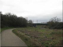 SP0293 : Beacon Way to railway by Martin Richard Phelan