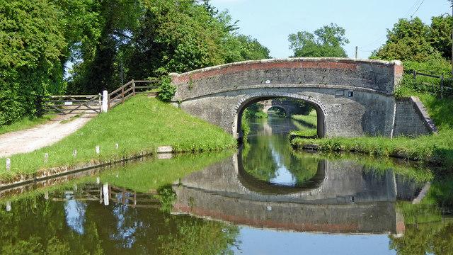 Eskew Bridge north-west of Brewood, Staffordshire
