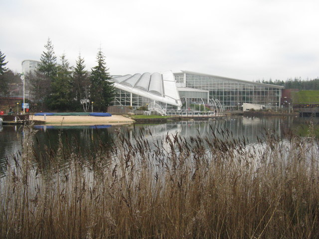 Lake at Center Parcs