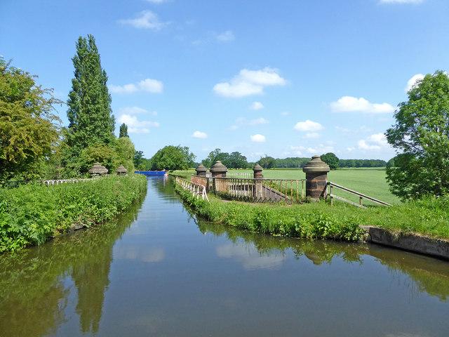 Stretton Aqueduct near Brewood, Staffordshire