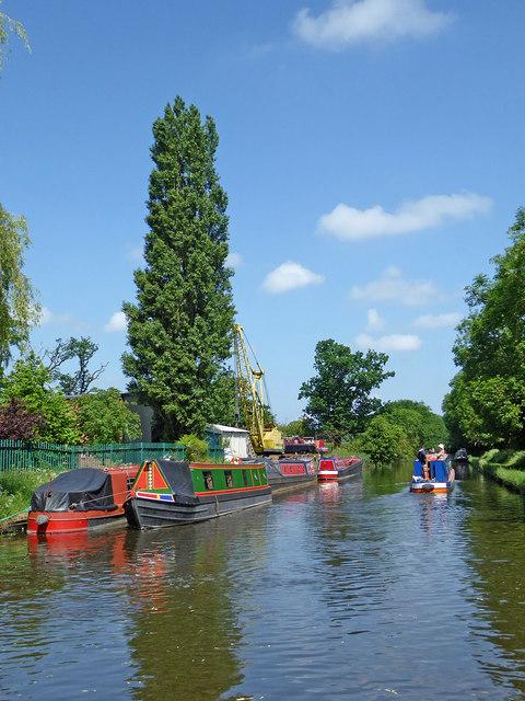 Shropshire Union Canal near Stretton, Staffordshire