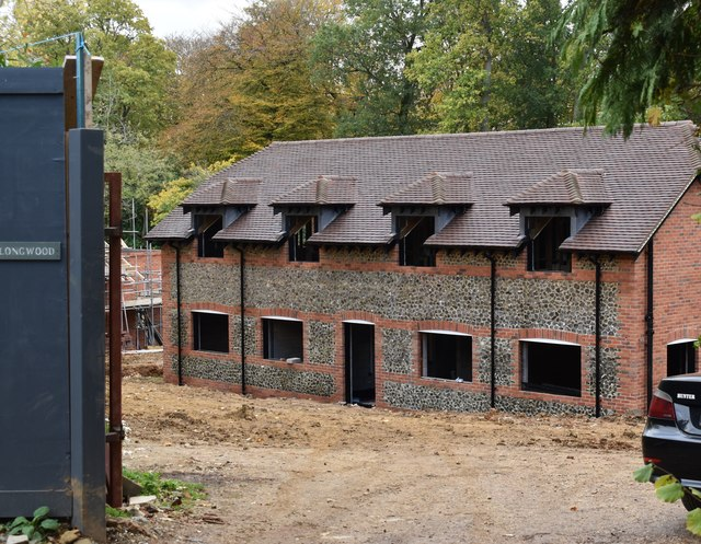 New house under construction at Maidensgrove