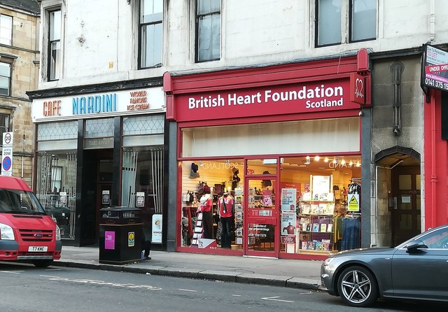 British Heart Foundation shop, Byres Road