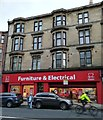 NS5566 : British Heart Foundation shop, Dumbarton Road by Thomas Nugent