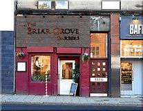 NS5666 : The Briar Grove Barbers, Argyle Street by Richard Sutcliffe