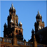 NS5666 : Towers, Art Gallery and Museum, Kelvingrove by Richard Sutcliffe
