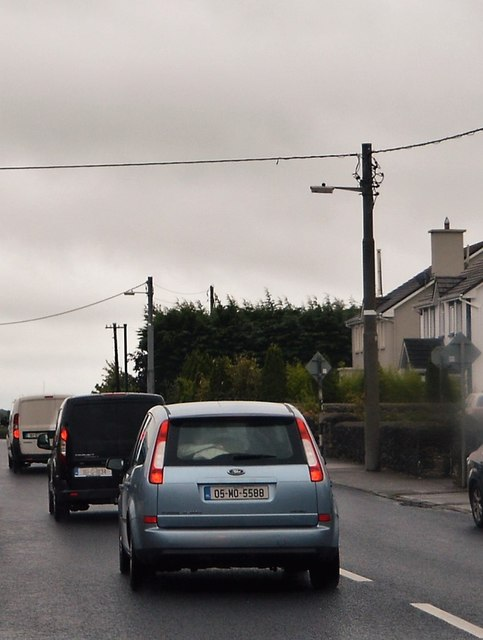 Heavy traffic, N84, Headford