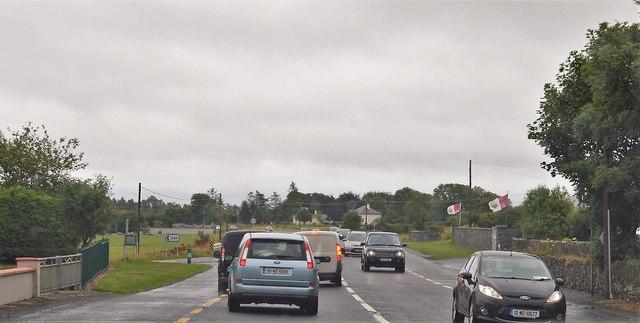 Traffic on N84