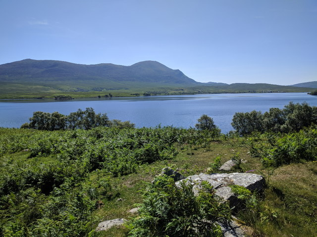 Loch Naver seen from the side of the B873