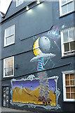 ST5973 : Mural, Moon Street, Bristol by Derek Harper