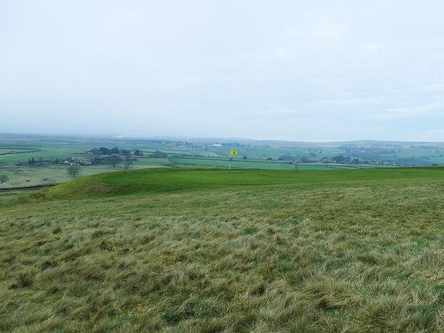 Second green of Baildon Golf Course