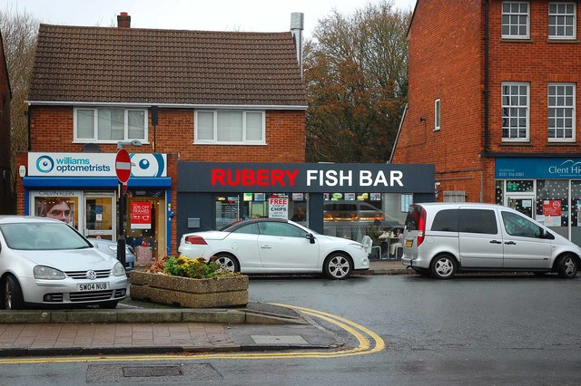 Rubery Fish Bar, 161B New Road, Rubery, near Birmingham