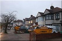 TQ4290 : Houses on Wensleydale Avenue, Clayhall by David Howard