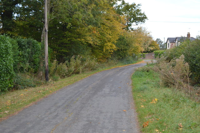 Unnamed rural lane