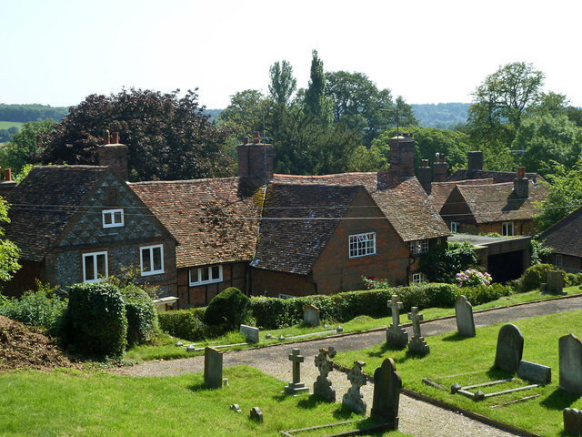 Church Cottage and Forge Cottage, Titsey