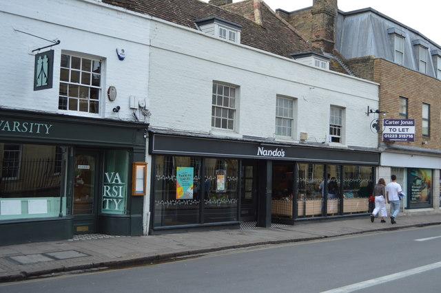 Nando's, St Andrew's Street