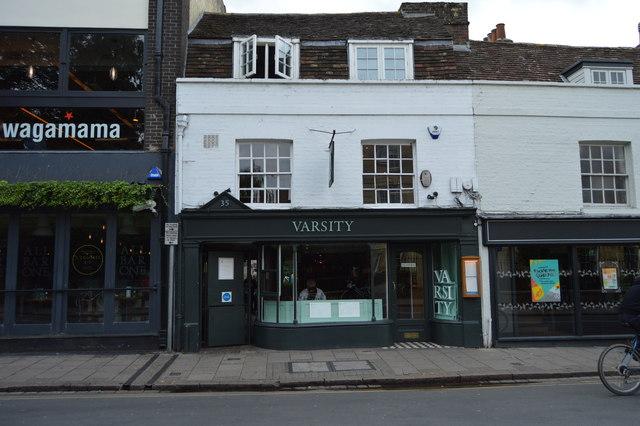 Varsity, St Andrew's Street