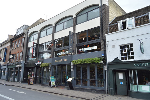 Wagamamas, St Andrew's Street