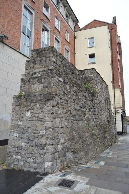 Old Dublin Wall