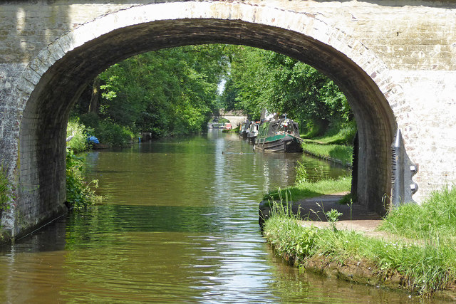 Shropshire Union Canal by Wheaton Aston in Staffordshire