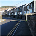 SO0201 : Stone semis, Bridge Road, Cwmbach by Jaggery